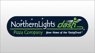 Northern Lights Pizza Dash logo