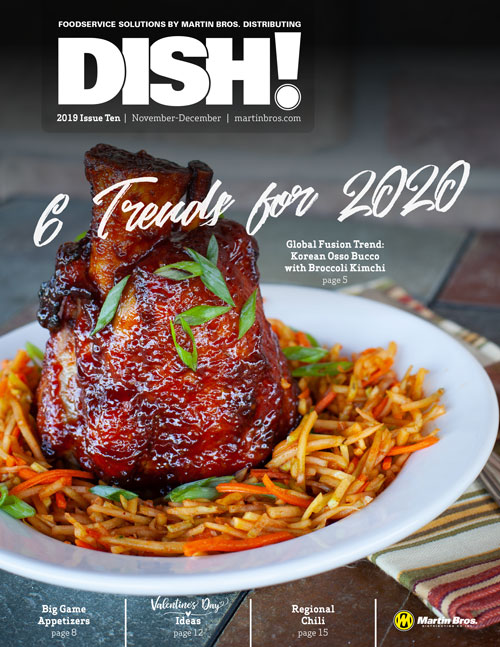 Dish! Foodservice Solutions by Martin Bros. magazine