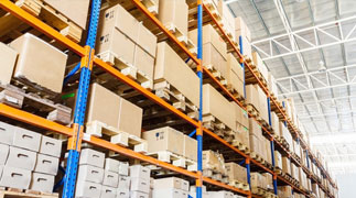 Martin Bros. Distributing warehouse with natural lighting